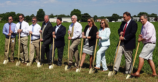 Distribution center groundbreaking.png