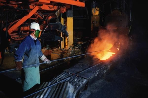 Steel Plant Worker