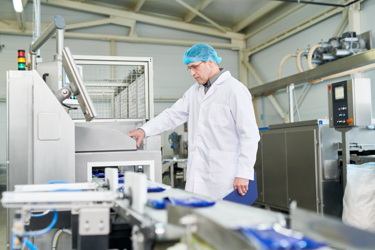 Food technologist in sterile clothes production line packaging shop_iStock-961457908-272807-edited