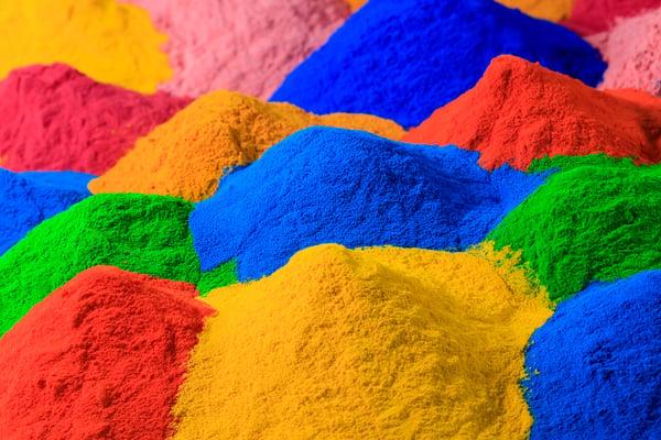 colorful-powder-coating
