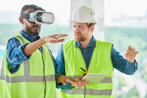 Using-VR-simulator-for-building-visualization