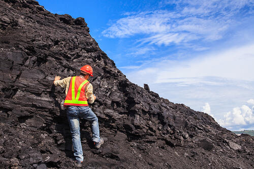 Coal-geologist
