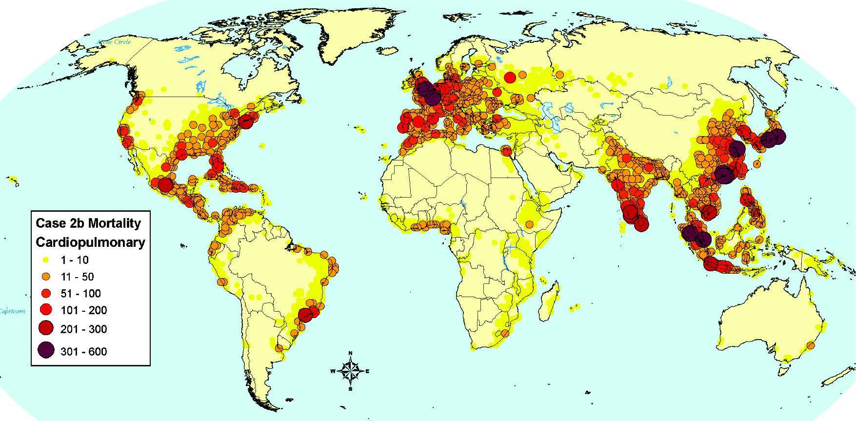 Cardiopulmonary mortality attributable to ship PM2.5 emissions worldwide.jpg